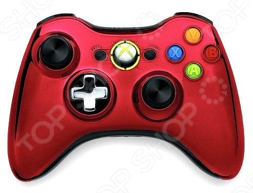 купить Геймпад Microsoft Xbox 360 Wireless Controller Chrome Series онлайн доставка