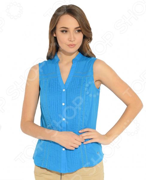 Блузка Синего Цвета В Москве